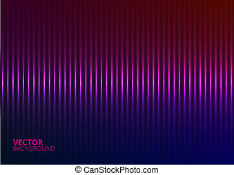 Vector Illustration of a Violet Music Equalizer - Vector...