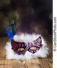 Fancy dress ball, Carnival mask - Fancy dress ball or party,...