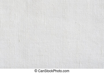 Natural Bright White Flax Fiber Linen Texture, Detailed...