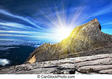 Mount Kinabalu - South peak at Mount Kinabalu
