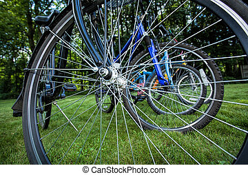 Bike spokes - Multiplication of bike spokes of several...
