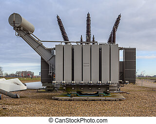 Transformation Unit for High Voltage Electricity - Spare...