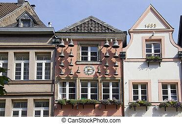 Dusseldorf Altstadt Bells - Historical bells in the old...