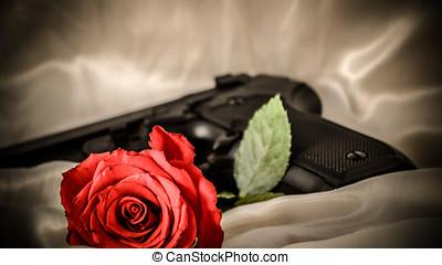 Red Rose - red rose