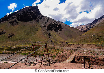 Argentina National Park Road to Aconcagua