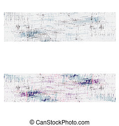 two abstract background with scratches