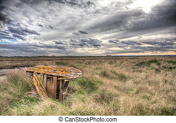 Lincolnshire Salt Marsh - Lincolnshire salt marshes neer...
