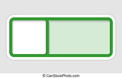 vector frame for text