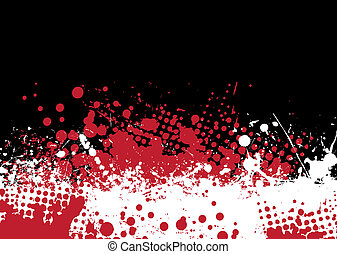blood tone - Blood splat abstract background with red and...