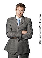 Business Man - A negative business man.