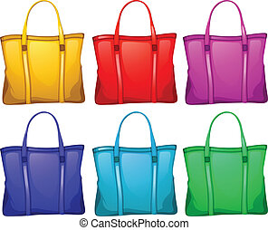 Different handbags