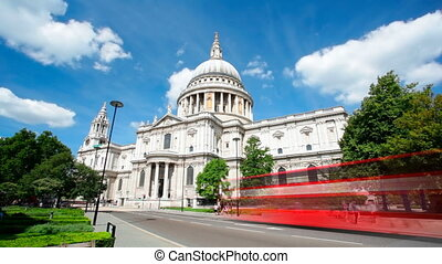 St Pauls Cathedral Long Exposure - Long exposure timelapse...
