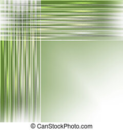 green abstract background with light lines