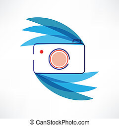 Digital cam icon