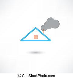煙, 煙突