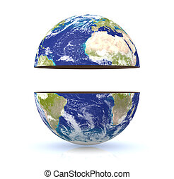 tierra, globo