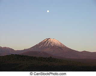 Mount Tongariro Ngaruhoe New Zealand