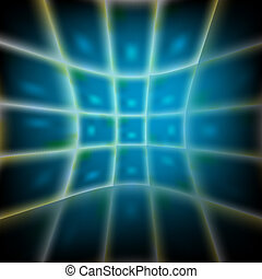 blue abstract vector backdrop with grid