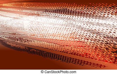 hot abstract vector background  with pattern