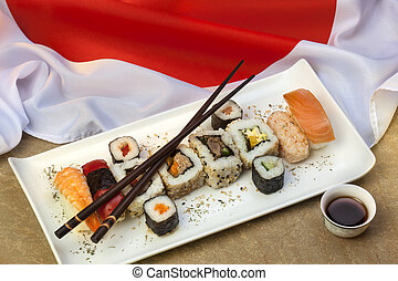 Japanese Sushi - Sushi is a Japanese dish consisting of...