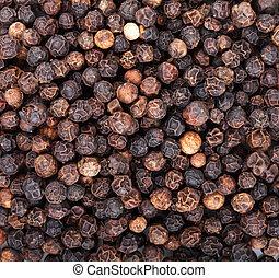 Peppercorn - Black peppercorn food texture background