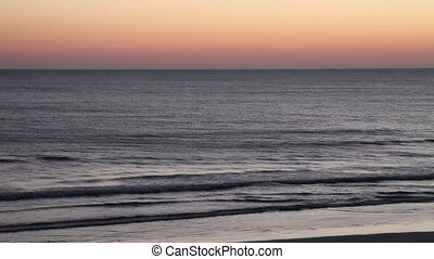 Early morning beach Daytona FL - Just Before the sunrise...