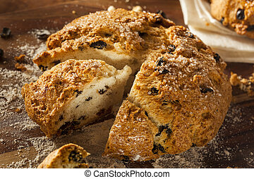 Traditional Irish Soda Bread for St Patricks Day