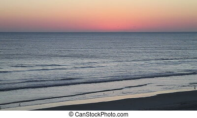 Before the sunrise Daytona Beach FL - Just Before the...