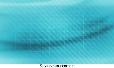Soft Flowing Blue Looping abstract background with wire...
