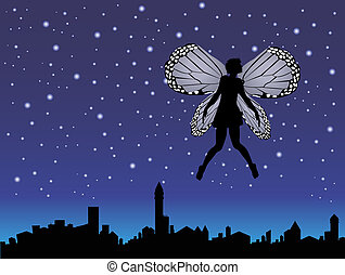 Fairy in the night