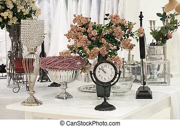 anticaglia, rose, orologio