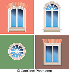 Four types of classical windows