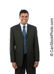 Happy Indian business man - Portrait of a handsome Indian...