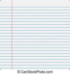 Notebook Filler Paper - Blank notebook filler paper...