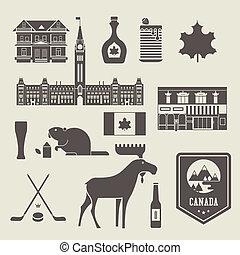Canadá, ícones