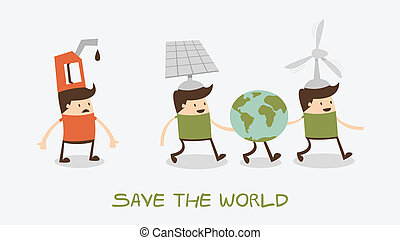 Save world - evolution of the concept of greening of the...