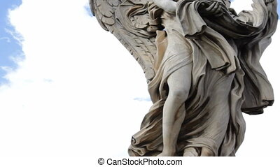 Angel Carrying the Garment and Dice on Ponte Sant Angelo...