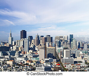 san francisco panorama - san francisco city panorama at...