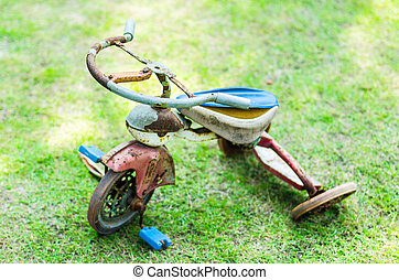 Ruined tricycle