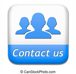 contact us button for feedback. Coordinates and address for...