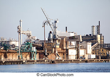 Industrial Shipping Dock