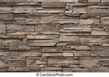現代, 磚, 牆