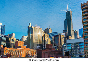 Chicago Cityscape During the Day