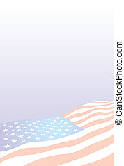 USA flag - illustrated nice USA flag as interesting...