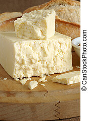Cheshire cheese - Cheshire a traditional dense and crumbly...