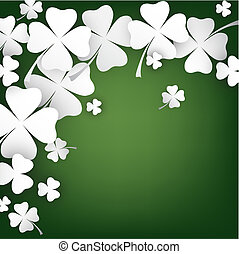 St. Patrick's Day Card - elegant St. Patrick's Day Card