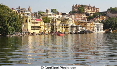 Pichola lake in Udaipur India