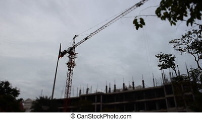 Tower Crane Working