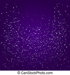 Purple Vector Background with Bokeh