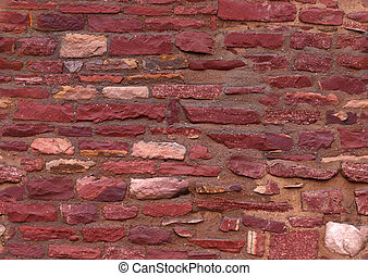 bricks seamless texture - brick wall closeup, seamless...